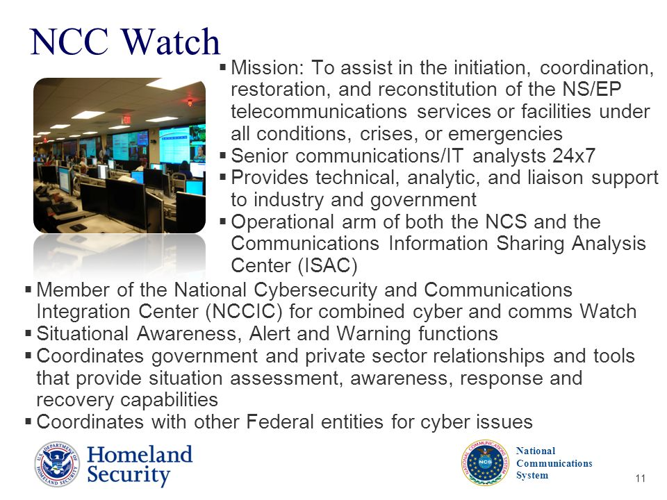NCC Watch