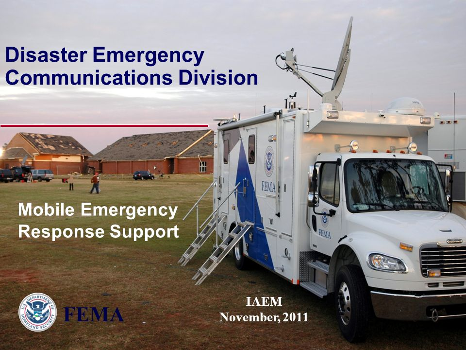 Disaster Emergency Communications Division