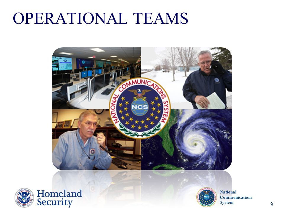 OPERATIONAL TEAMS