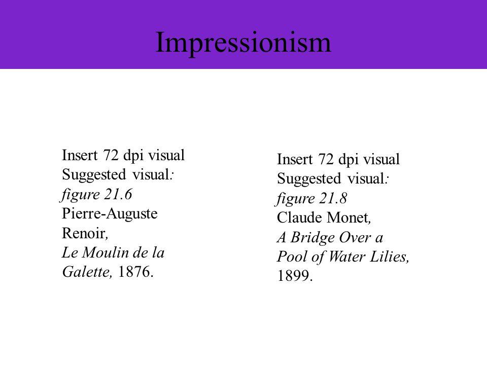 Impressionism Insert 72 dpi visual Insert 72 dpi visual