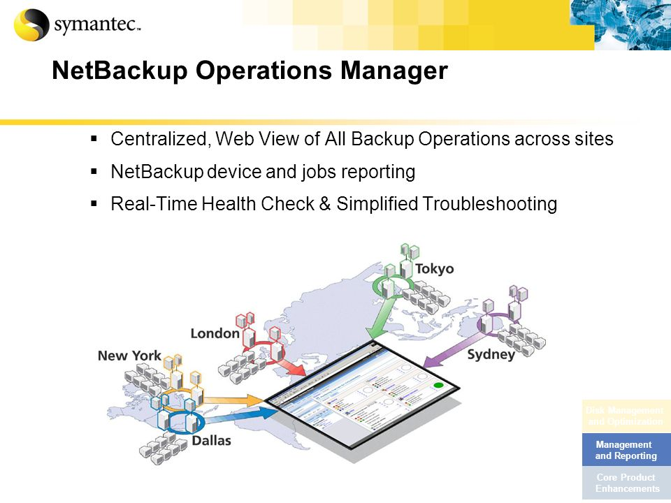 NetBackup Operations Manager