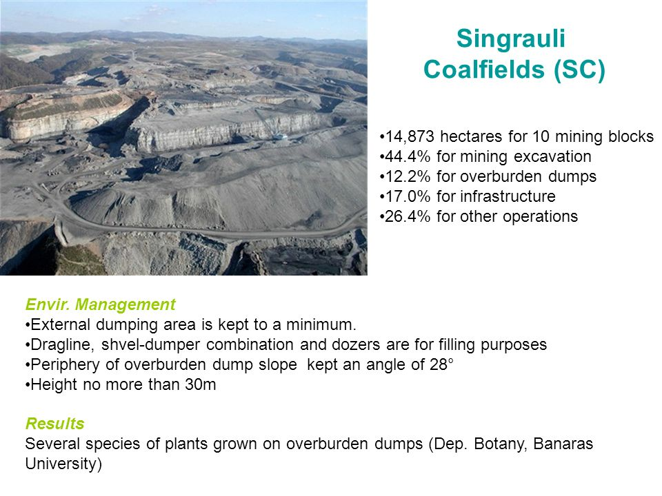 Singrauli Coalfields (SC)