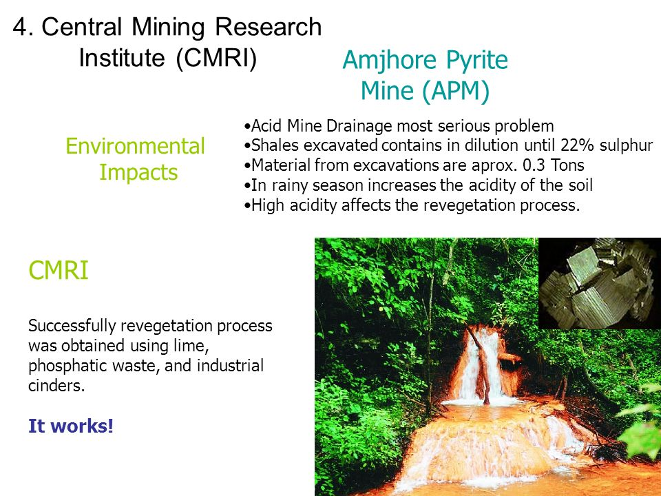 4. Central Mining Research Institute (CMRI)
