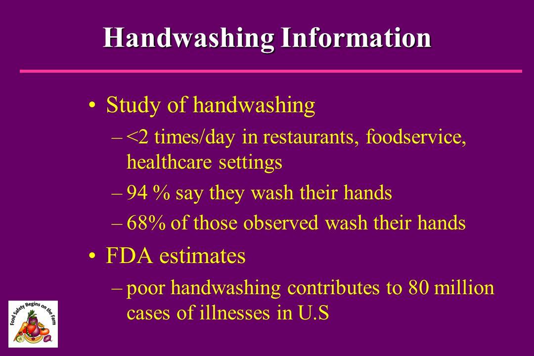 Handwashing Information