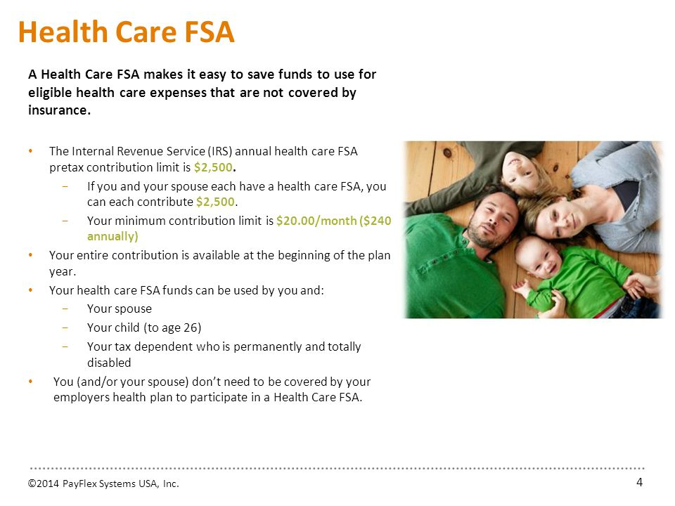 Health Care FSA Expenses