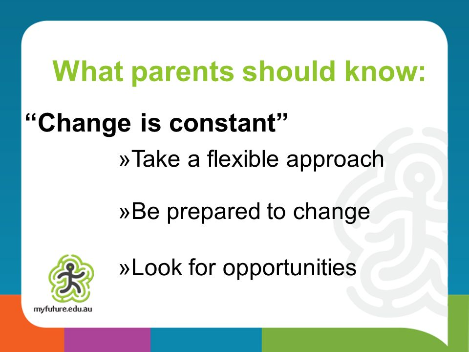 What parents should know: