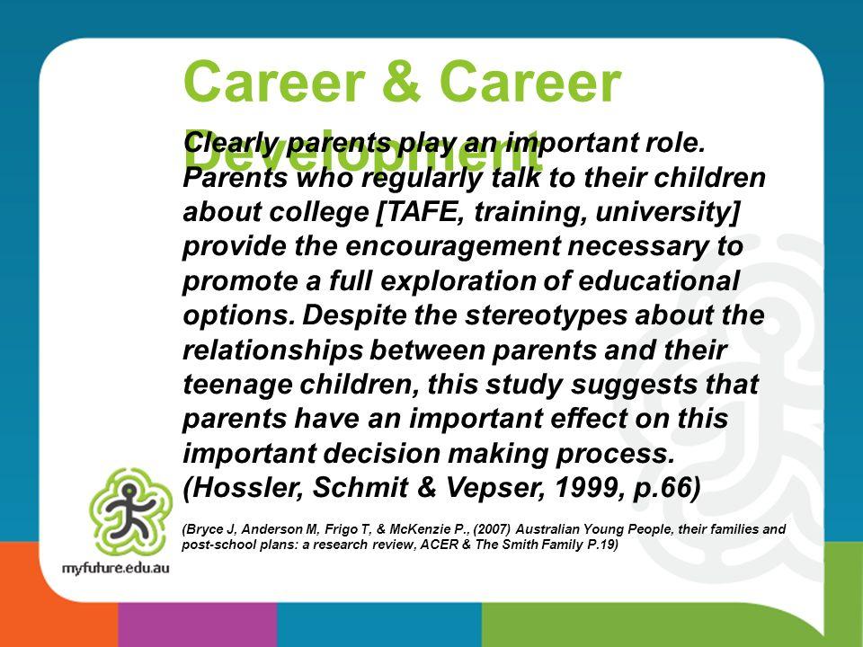 Career & Career Development