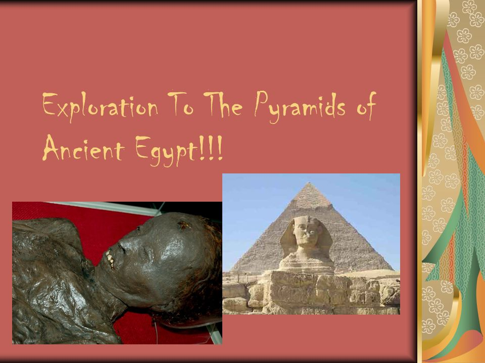 Exploration To The Pyramids of Ancient Egypt!!!