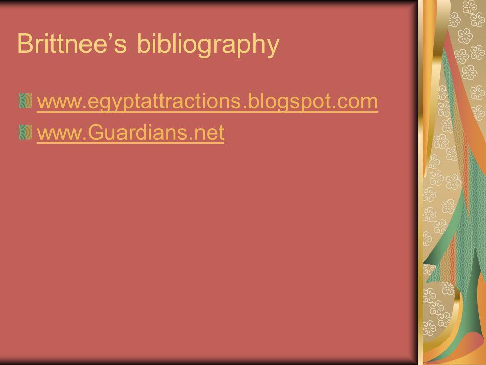 Brittnee's bibliography