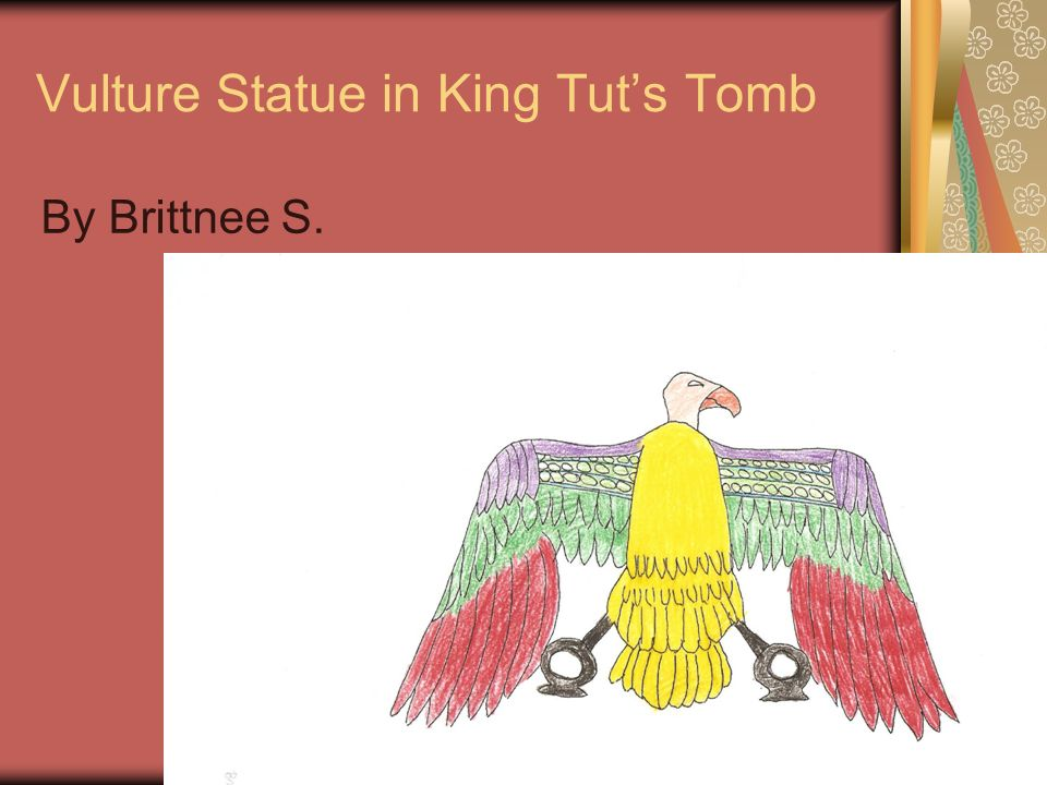 Vulture Statue in King Tut's Tomb