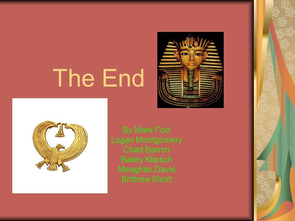 The End By Mark Folz Logan Montgomery Chad Barron Bailey Klipsch
