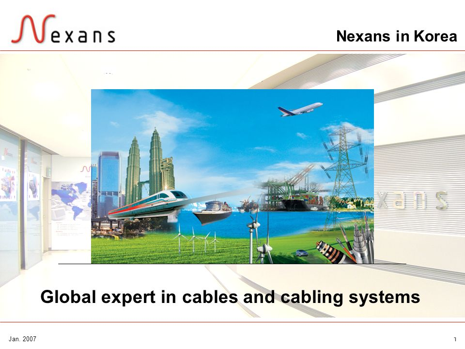 Global expert in cables and cabling systems