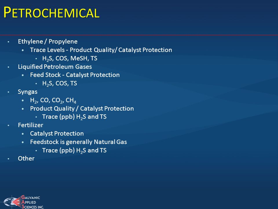 Petrochemical Ethylene / Propylene