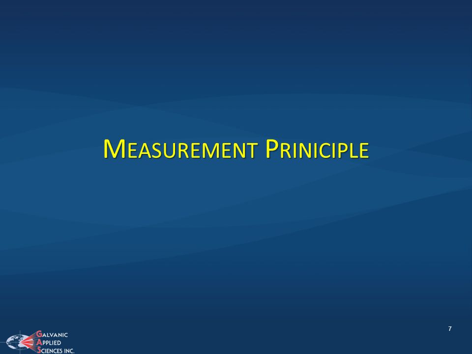 Measurement Priniciple