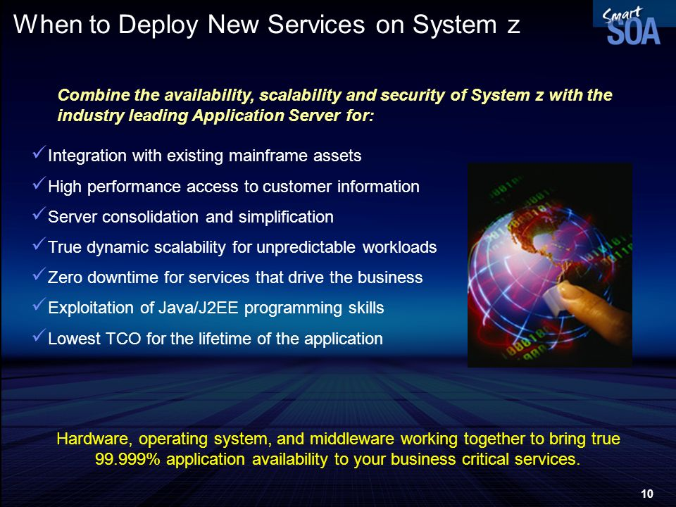 When to Deploy New Services on System z