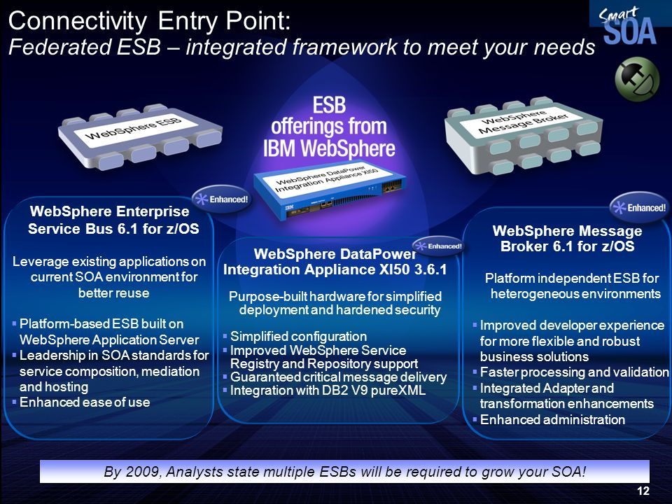 Connectivity Entry Point: Federated ESB – integrated framework to meet your needs