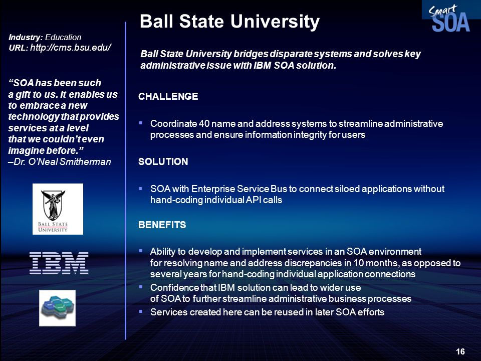 Ball State University Industry: Education. URL: