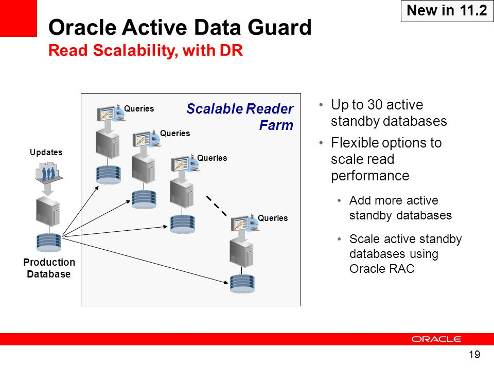 Oracle Active Data Guard Read Scalability, with DR