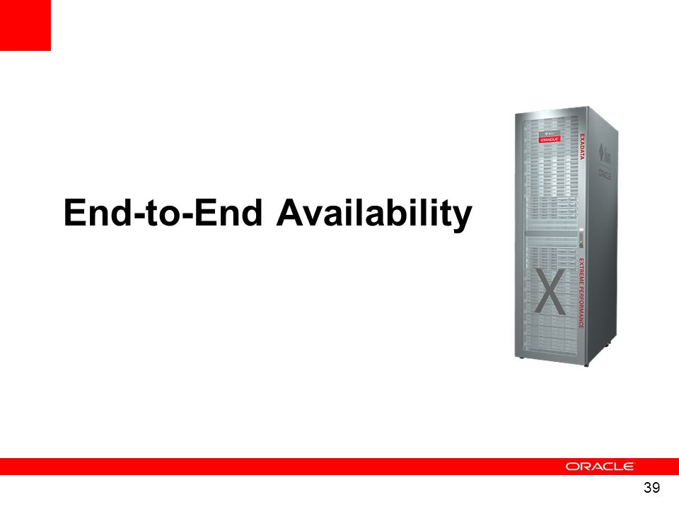End-to-End Availability