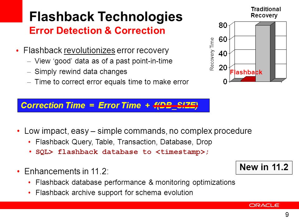 Flashback Technologies Error Detection & Correction