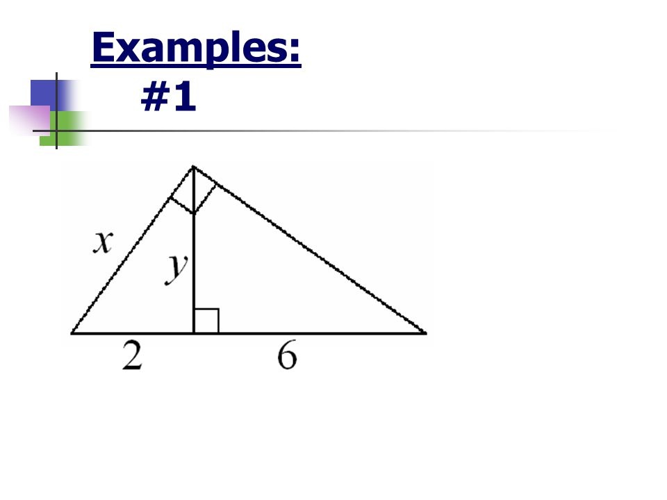 Examples: #1