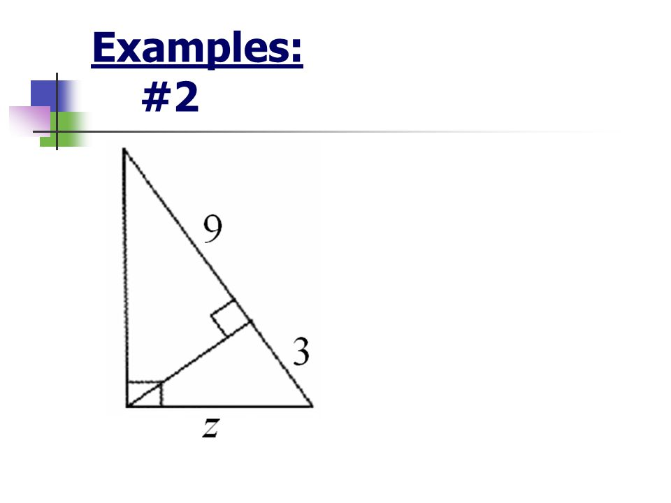 Examples: #2