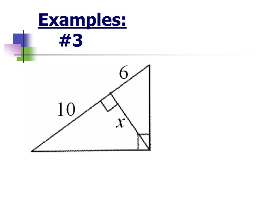 Examples: #3