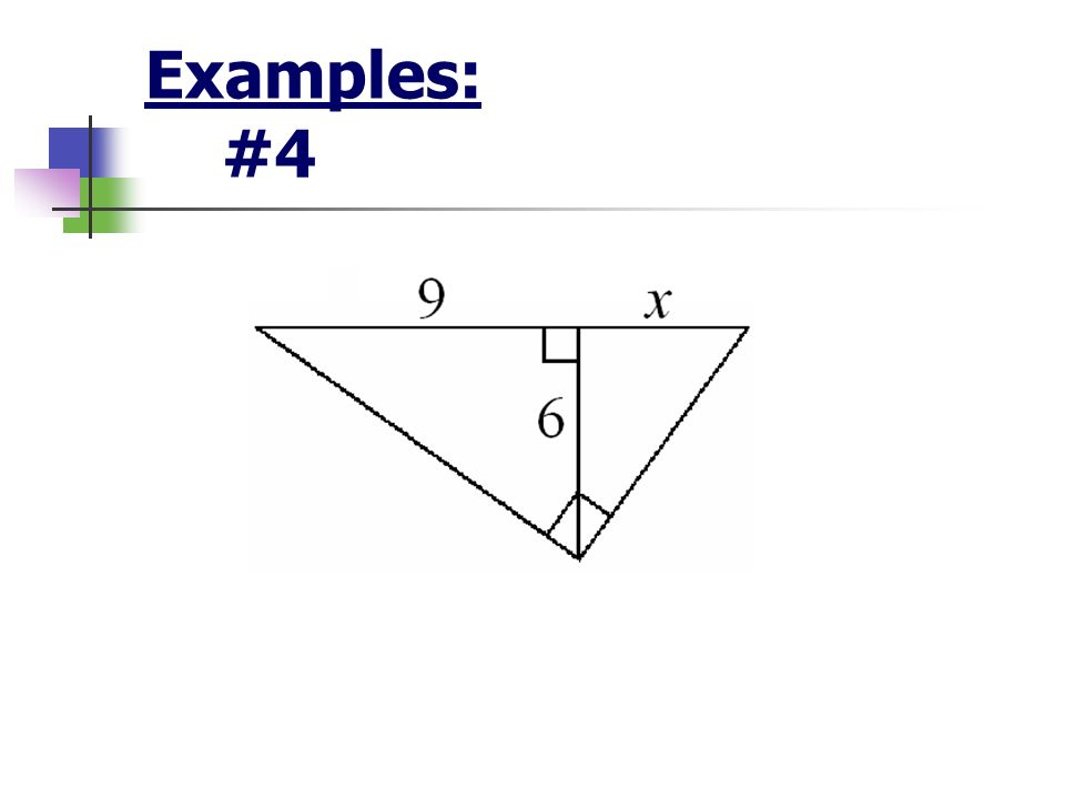 Examples: #4