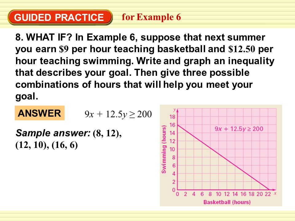 GUIDED PRACTICEfor Example 6.