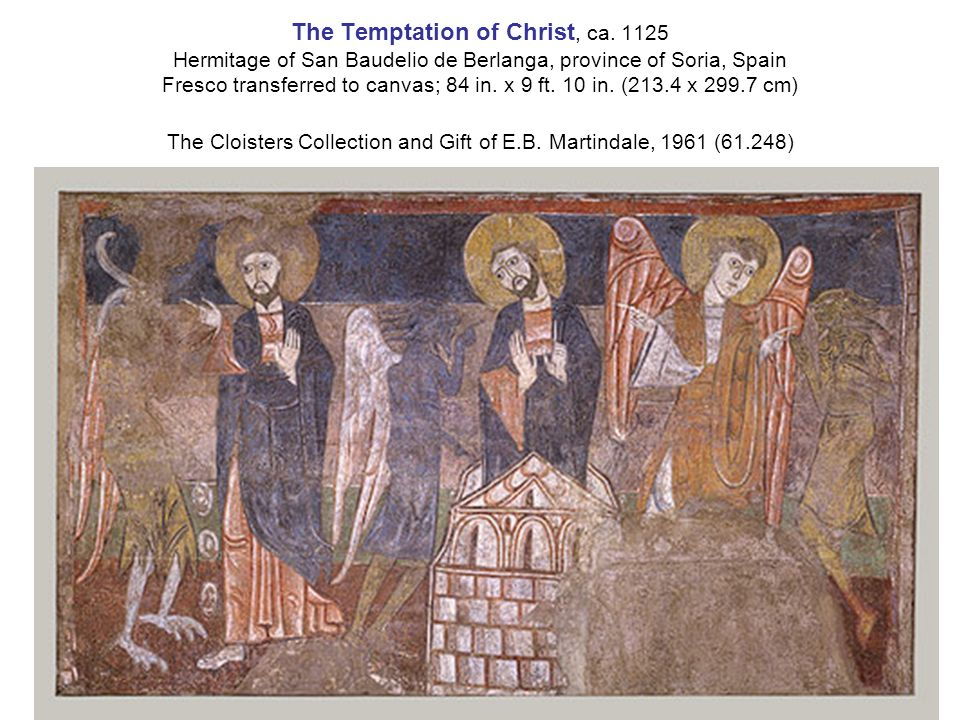 The Temptation of Christ, ca