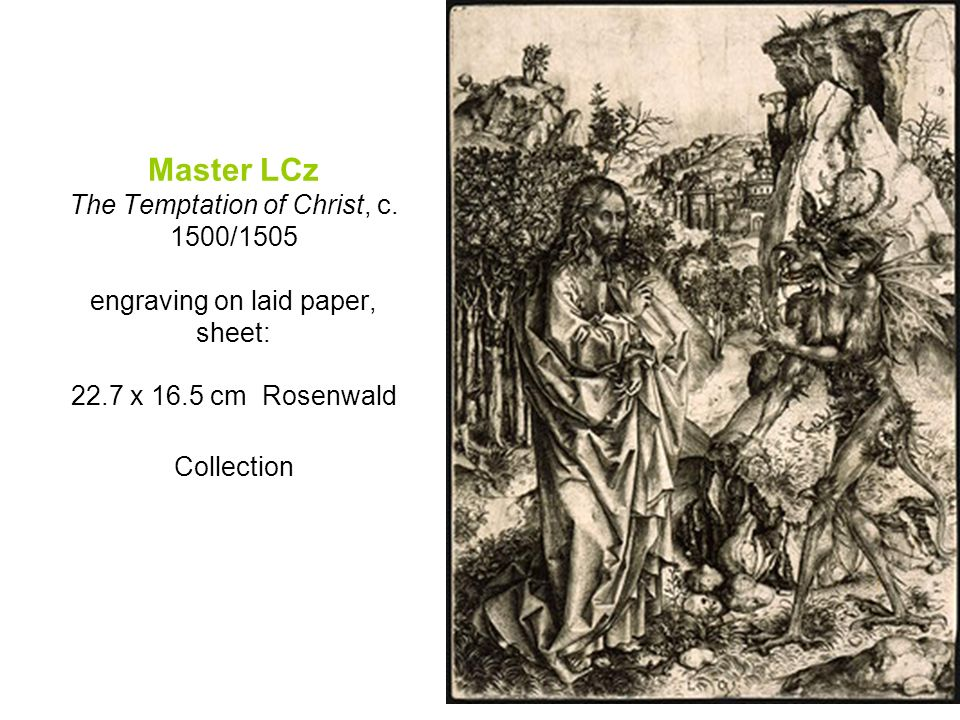 Master LCz The Temptation of Christ, c