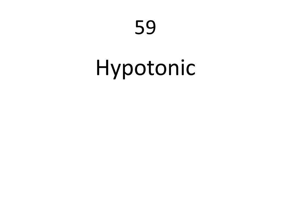 59 Hypotonic