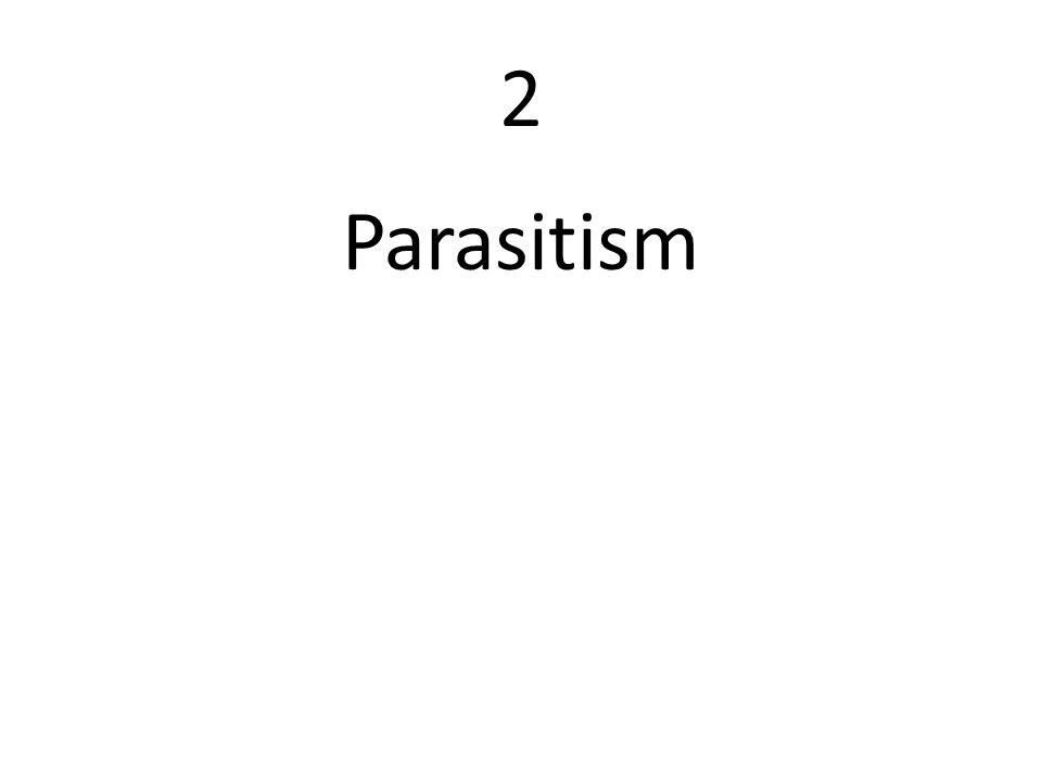 2 Parasitism