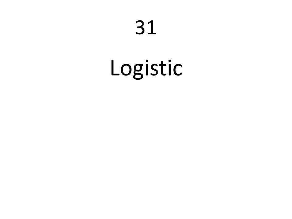 31 Logistic