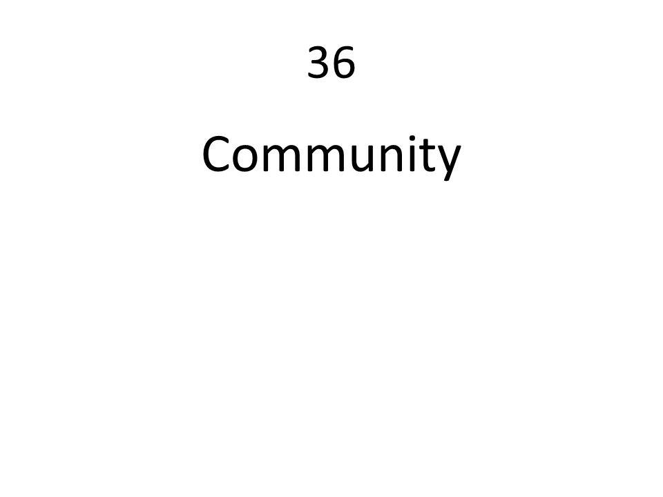 36 Community