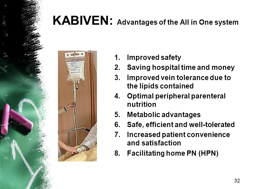 KABIVEN: Advantages of the All in One system