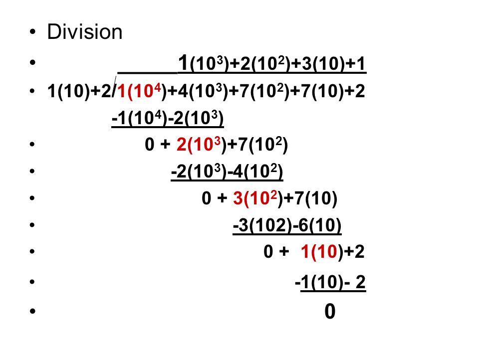 Division _____1(103)+2(102)+3(10)+1