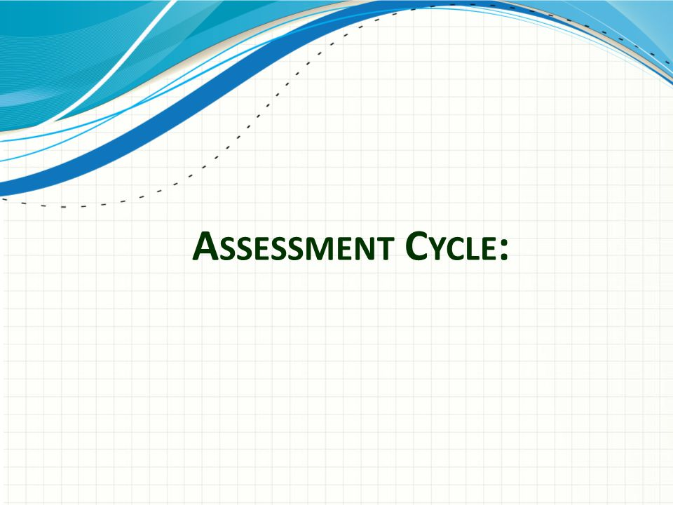 Assessment Cycle: