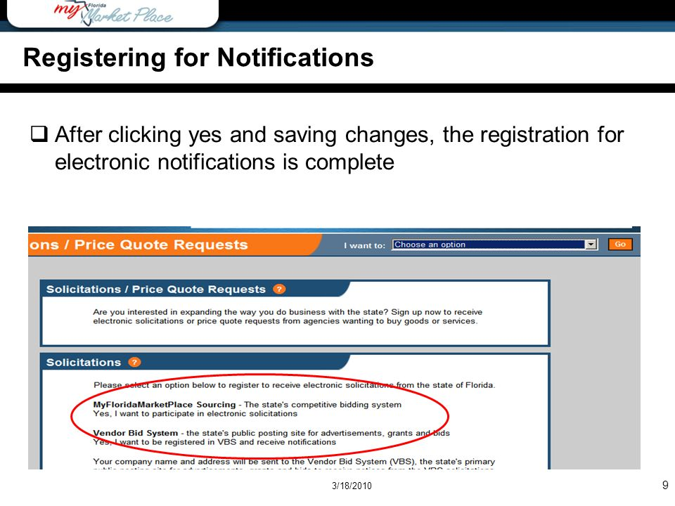 Overview Registering for Notifications