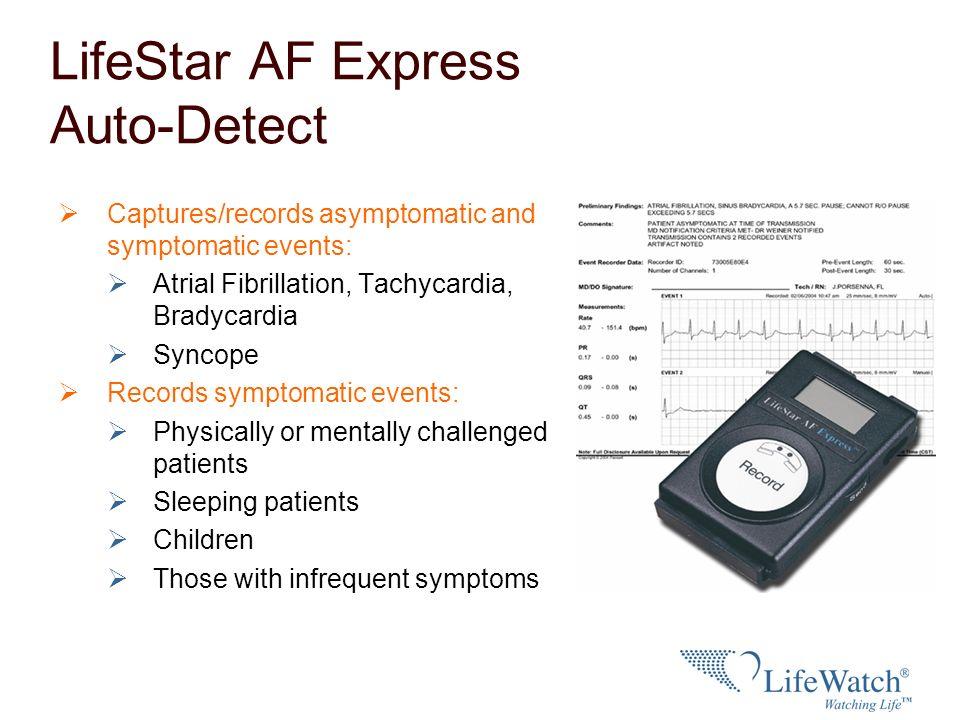 LifeStar AF Express Auto-Detect