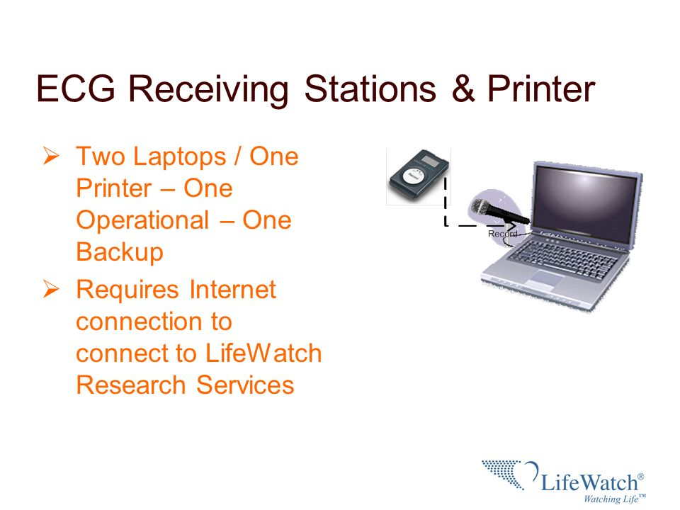 ECG Receiving Stations & Printer