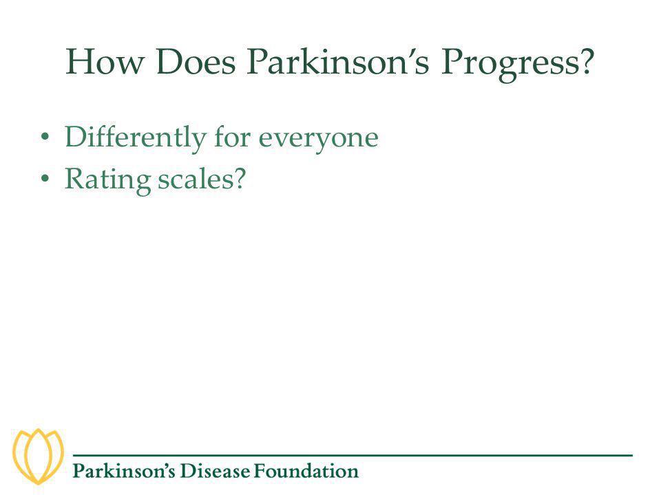 How Does Parkinson's Progress