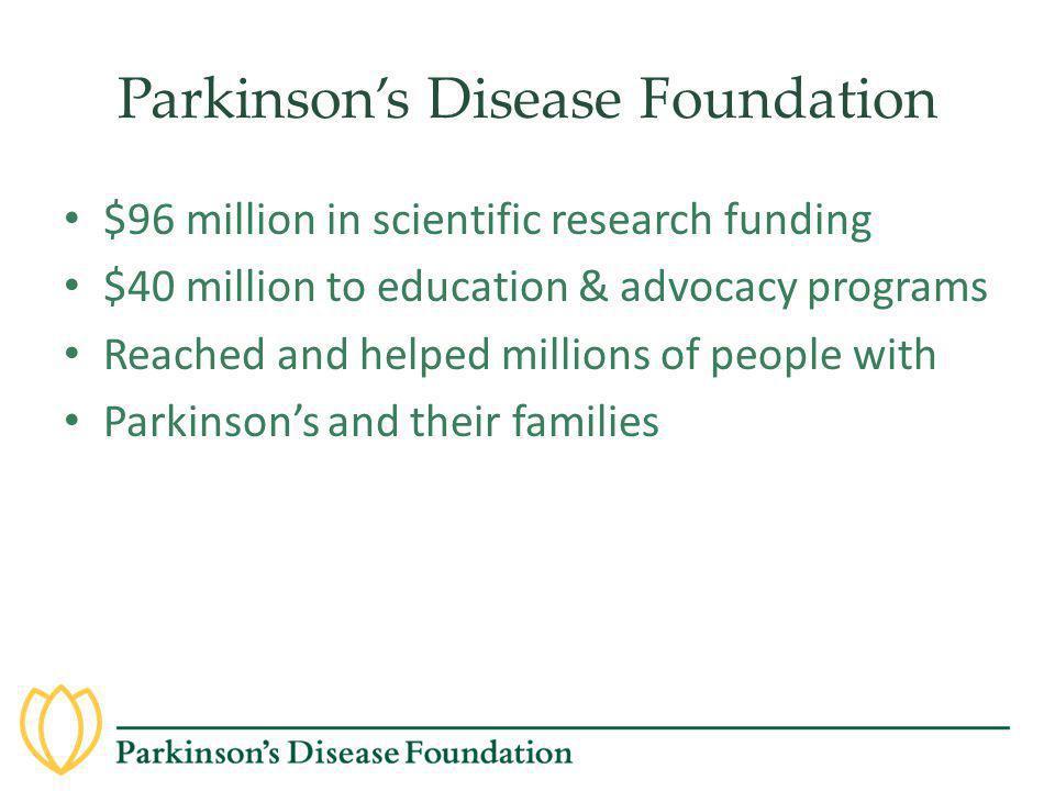 Parkinson's Disease Foundation