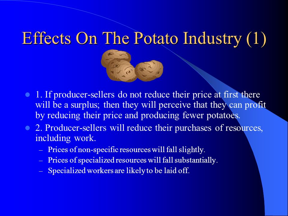 Effects On The Potato Industry (1)