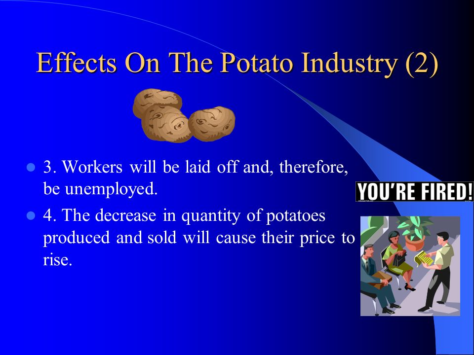 Effects On The Potato Industry (2)