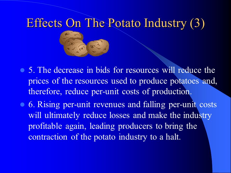 Effects On The Potato Industry (3)