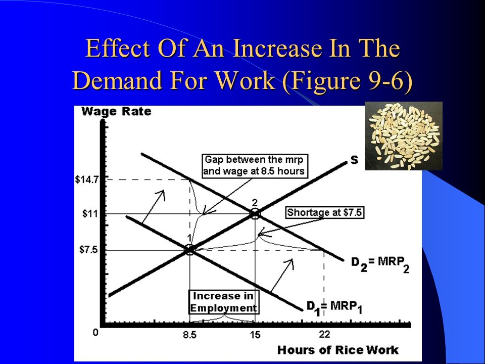 Effect Of An Increase In The Demand For Work (Figure 9-6)