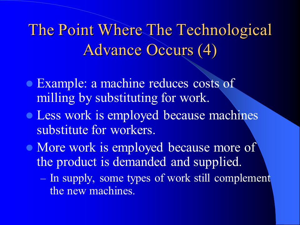 The Point Where The Technological Advance Occurs (4)