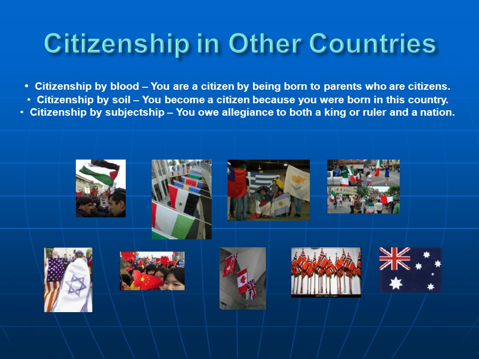 Citizenship in Other Countries