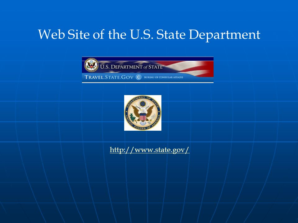 Web Site of the U.S. State Department